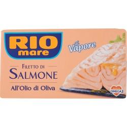 Rio mare filetti salmone olio oliva - gr.120