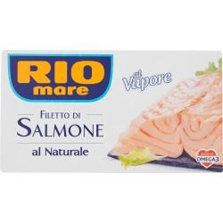 Rio mare filetti salmone naturale - gr.150