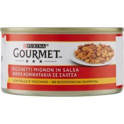 Gourmet lattina con pollo e tacchino - gr.195