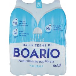 Boario acqua naturale lt.1,5x6