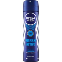 Nivea deodorante fresh active men - ml.150