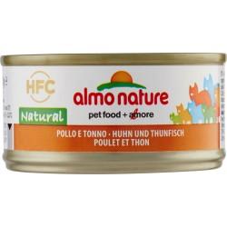 Almo nature HFC Natural Pollo e Tonno 70 gr.