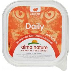 Almo daily gatto manzo in vaschetta - gr.100