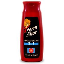 Perm&color shampo e balsamo per tutti i capelli ml250