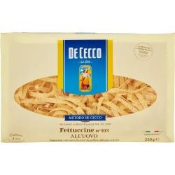 De Cecco Fettuccine all'Uovo n° 103 250 gr.