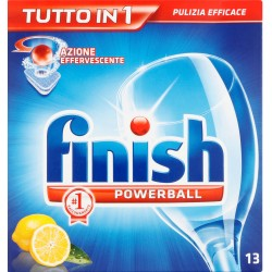 Finish tutto in1 lemon tabs x 13