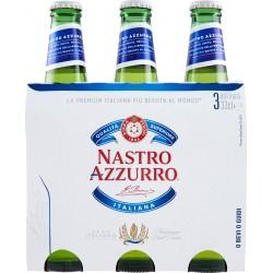 Nastro Azzurro birra cl.33 x 3