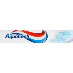 Aquafresh dentifricio white & brillant ml75