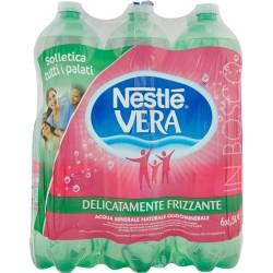 Vera acqua leggermente frizzante lt.1,5x6