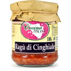 Cucina Toscana ragù di cinghiale gr.180