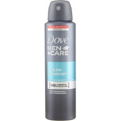 Dove deodorante spray men clean comfort - ml.150