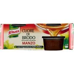 Knorr cuore di brodo manzo - gr.28 x4