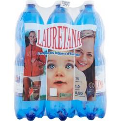 Lauretana acqua naturale 6 x lt.1,5