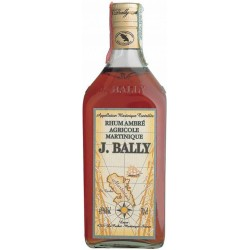 J.bally rum ambre' agricole cl.70