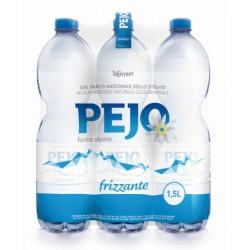 Pejo acqua frizzante lt.1,5 x6