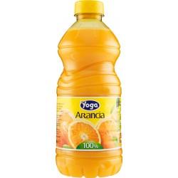 Yoga succo 100% arancia pet - lt.1