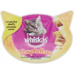 Whiskas temptations pollo - gr.60