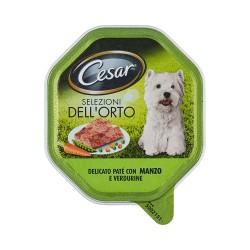 Cesar vaschetta patè manzo e verdure - gr.150