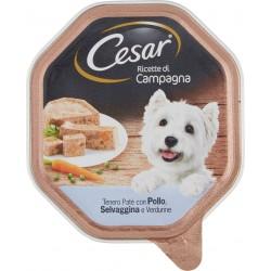 Cesar vaschetta paté pollo selvaggina verdure - gr.150