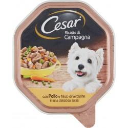 Cesar vaschetta filetti pollo verdurine - gr.150