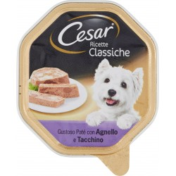 Cesar vaschetta paté agnello e tacchino - gr.150