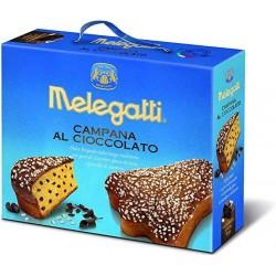 Campana al cioccolato Melegatti 650 gr.