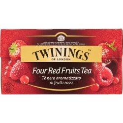 Twinings the 25 filtri four red fruit