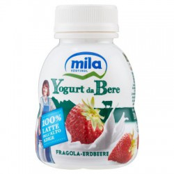 Mila yogurt da bere fragola ml.200