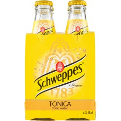 Schweppes tonica vap cl.18 cluster x4