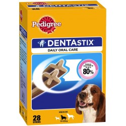 Pedigree Dentastix mpack medium x28 10-25 kg. 720 gr.