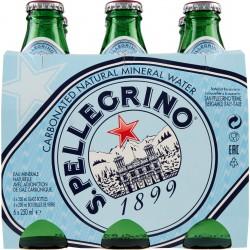 San Pellegrino acqua frizzante ml.250 cluster x6