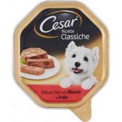 Cesar vaschetta paté manzo pollo - gr.150