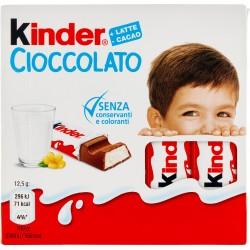 Kinder Cioccolato 4 pezzi gr. 50