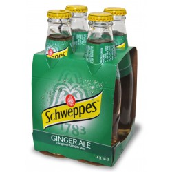 Schweppes gingerale cl.18 cluster x4