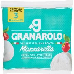 Granarolo Mozzarella Fatta con Latte Fresco Alta Qualità 100% Italiano 3 x 100 gr.