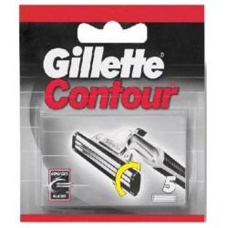 Gillette contour ric. x5