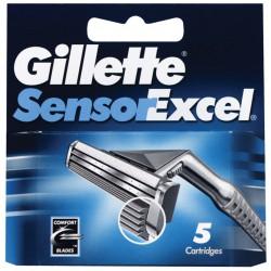 Gillette sensor excel ric. x5