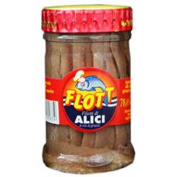 Flott filetti di alici olio oliva - gr.78