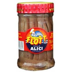 Flott filetti di alici olio oliva - gr.78
