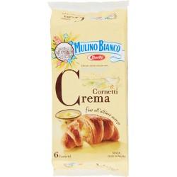 Mulino Bianco cornetti alla crema pezzi 6 gr.330