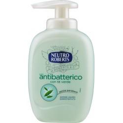 Neutro Roberts con antibatterico con tè verde Sapone Liquido Dermotestato ml.300