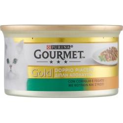 Gourmet gold coniglio e fegato - gr.85