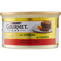 Gourmet gold manzo carote - gr.85