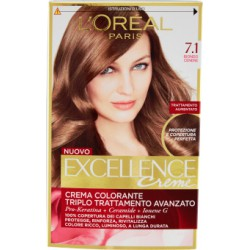 Oreal excellence n.7,1 biondo cenere