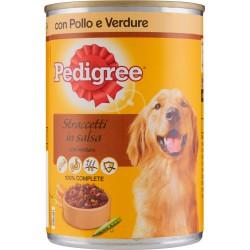 Pedigree Straccetti in salsa con verdure con Pollo e Verdure lattina 405 gr.