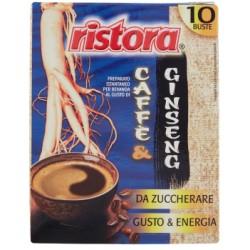 Ristora caffe ginseng senza zucchero buste gr.70 x10