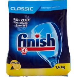 Finish Classic Polvere con Effetto Ammollo Limone 1,6 kg
