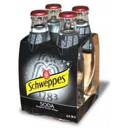 Schweppes soda vap cl.18 cluster x4