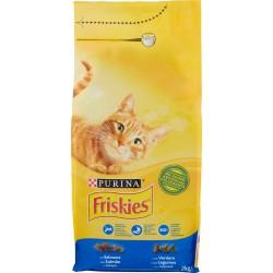 Friskies crocchette gatti salmone verdure - kg.2