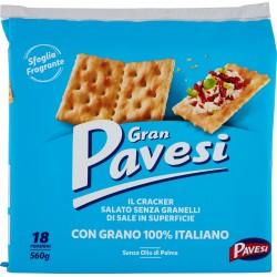 Gran Pavesi i Cracker non salati gr.560
